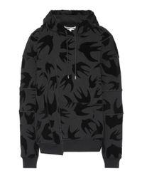 Sweat-shirt à capuche en coton McQ Alexander McQueen en coloris Black