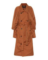 Y. Project - Brown Cotton-blend Trench Coat - Lyst