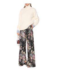 Preen By Thornton Bregazzi Multicolor Hose Maggie aus Jacquard