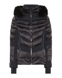 Giacca da sci Maria con pelliccia di Toni Sailer in Black