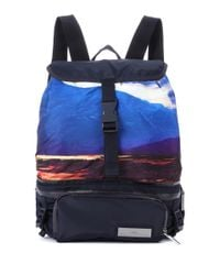 Adidas By Stella McCartney Blue Convertible Backpack