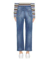 Valentino Blue Rockstud Denim Jeans