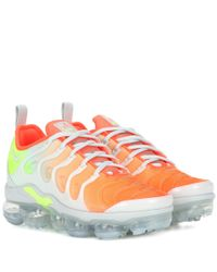 Nike Orange Air Vapormax Plus Sneakers