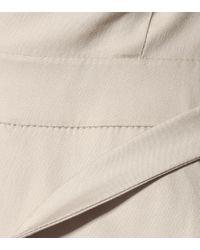 Vestido Vernice mezcla de algodón Max Mara de color Natural