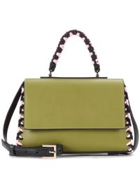 Emilio Pucci - Green Leather Shoulder Bag - Lyst