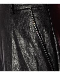 Short en cuir synthétique Philosophy Di Lorenzo Serafini en coloris Black