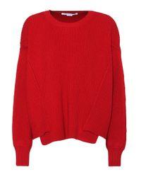 Pull en laine Stella McCartney en coloris Red