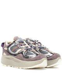 Eytys Multicolor Sneakers Jet Turbo aus Veloursleder und Leder