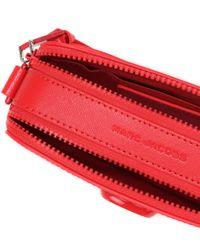 Bolso cámara Snapshot DTM Small Marc Jacobs de color Red