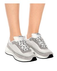 A.P.C. White Sneakers Running Femme