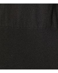 The Row Black Wool-blend Sweater