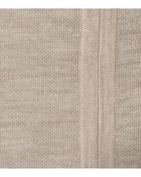Gabriela Hearst Natural Hodkins Reversible Wool And Cashmere Skirt