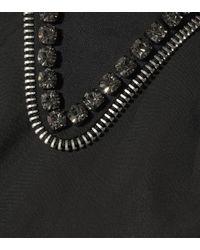 N°21 Black Minikleid aus Baumwollpopeline