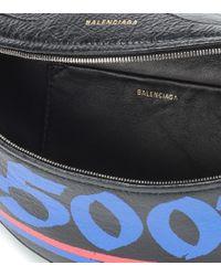 Marsupio Souvenir XS in pelle di Balenciaga in Black