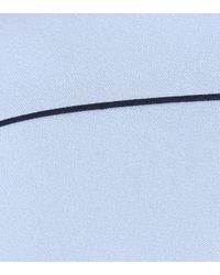 Roksanda Blue Midikleid Lavete aus Cady