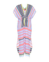 Lemlem - Multicolor Sofia Cotton-blend Kaftan - Lyst