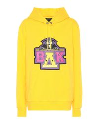 Sweat-shirt en coton x Beyoncé Balmain en coloris Yellow