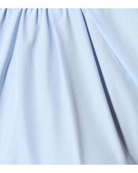 Marni Blue Top aus Baumwolle