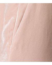Pantalon de survêtement en velours Stella McCartney en coloris Pink