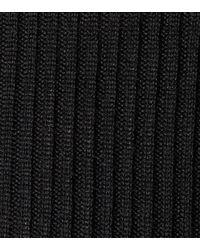 Philosophy Di Lorenzo Serafini Black Rollkragenpullover mit Spitzen-Details