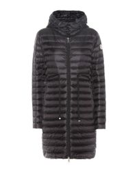 Moncler Black Barbel Quilted Down Coat