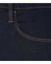 FRAME Blue Ali High-rise Cigarette Jeans