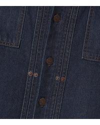 Jupe crayon en jean Polo Ralph Lauren en coloris Blue