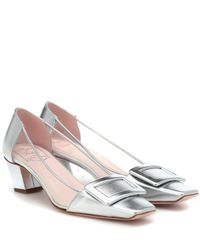 Roger Vivier Multicolor Exclusive To Mytheresa – Belle Vivier Pvc And Leather Pumps