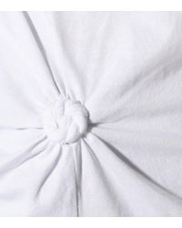 T-shirt in cotone di Helmut Lang in White