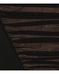 Alexander Wang Black Stitched Skirt Dress