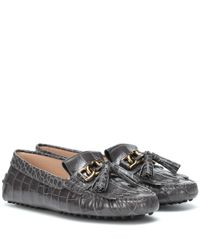 Tod's Multicolor Loafers Gommino aus Leder