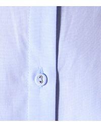 Victoria, Victoria Beckham Blue Cotton Shirtdress