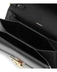Borsa Carrie in pelle di Burberry in Black