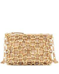 Borsa Capria in pelle con ambra di By Far in Multicolor