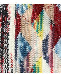 Missoni - Multicolor Wool-blend Cardigan - Lyst