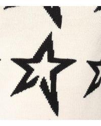 Pullover Stardust in lana merino di Perfect Moment in White