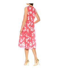 Robe imprimée en coton Marni en coloris Pink