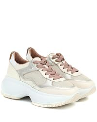 Hogan Multicolor Maxi I Active Leather Sneakers