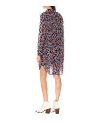 Vestido Isla de algodón floral Rag & Bone de color Blue