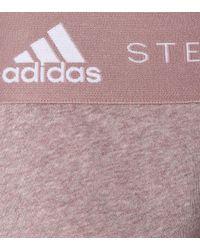 Adidas By Stella McCartney Multicolor Shorts aus einem Baumwollgemisch