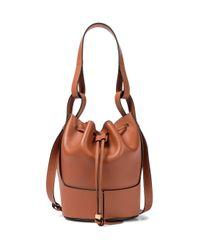 Loewe Brown Bucket-Bag Balloon Small