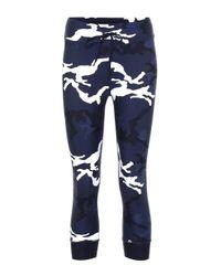 The Upside Blue Marine Camo Nyc leggings