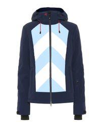 Veste de ski Tignes à capuche Perfect Moment en coloris Blue