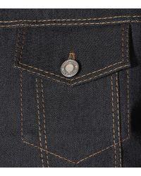 Chaqueta de jeans con gamuza Bottega Veneta de color Blue