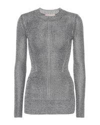 Christopher Kane Metallic Jersey Sweater