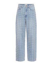 Étoile Isabel Marant Blue Distressed-Jeans Cory