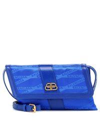 Balenciaga Blue Shift S Crossbody Bag