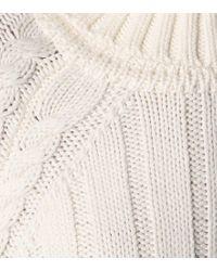 Dolcevita in lana di Matthew Adams Dolan in White