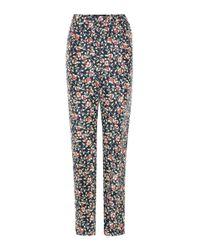Isabel Marant - Multicolor Roya Silk Trousers - Lyst