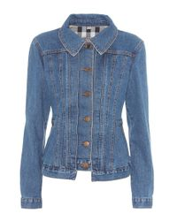 Burberry Blue Filmerton Denim Jacket